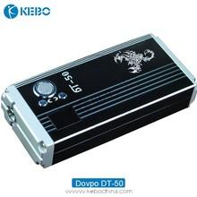 Alibaba hottest sale e-cig 50w box mod, dt-50 e-cigarette,dovpo dt-50w ecig box mod factory price e-cigarette
