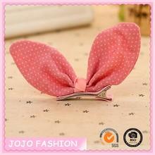 Little baby hair bow clip, baby BB clips, handmade hair clips for baby girl