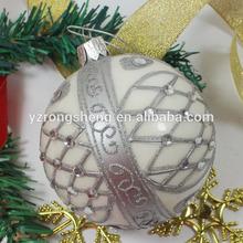 wholesale fashionable plastic chrsitmas ball ornaments