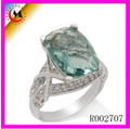 Excellent Quality Ring Green Jade Jewelry
