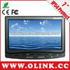 7 inch truck, taxi fleet management HDMI touchscreen monitor