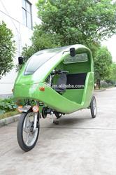 green energy Lithium battery motor powered e passenger trike JB300K-06