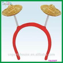 New Design Fashion Straw Hat Hawaii Headband