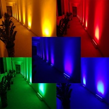 Rechargeable RGBAWUV Purple 6 in 1 6 colors wireless dmx stage lighting/led moving head wash light