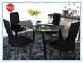 neues produkt oval esstisch aus glas wohnmöbel