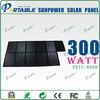 24% high efficiency Sunpower 300 watt folding solar panels