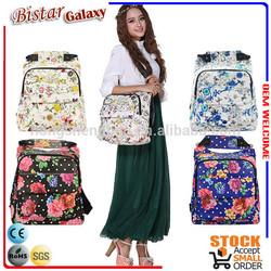 BSB102 2014 New Flower pattern Noble and elegant ladies shoulder bags
