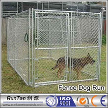 wholesale large chain link iron fence cheap dog kennels (factory)