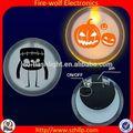 comprare sfuso dalla cina pubblicità led magnetico incandescente ricamo su badge patch