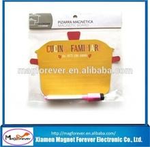 Children magnetic whiteboard Magnetic fridge whiteboard flexible magnetic whiteboard