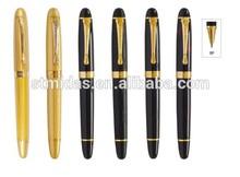 exquisite pattern pen, gold part pen, heavy metal pen MDS-RJ024