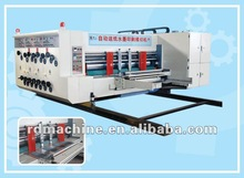 [RD-CW910-2000-3] Automatic high speed 3 color corrugated carton flexo printing die cutting machine