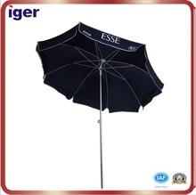 alumnium black big chinese parasol