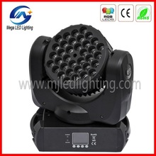 pro for party decoration 36pcs Beam DMX512 rgbw zoom led moving head wash