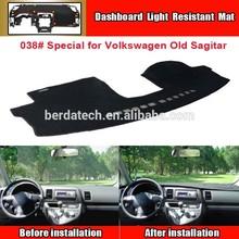 Car Dashboard Avoid light pad Instrument platform desk cover Mats Carpets Sun block mat,suitable for Volkswagen VW old sagitar