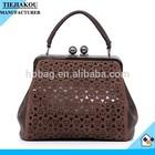 New Hot Sale Designers Handbags 2015 Iron Clamp Lady Handbag Women Bags