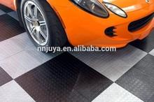 Interlocking Rubber Roll Gym Flooring Tile / Rubber Garage Floor Mat