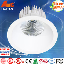 SAA,TUV-GS,CE certificates oem 15w led downlight