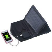 14 watt 5v Dual usb-port solar charger for cell phone