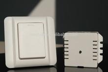Self-powered wireless wall switch