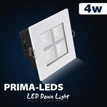 Square shape CE 220v downlight power factor led