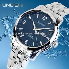 10ATM Waterproof Luxury Stainless Steel Sapphire mirror personalised mens wrist watches mechan