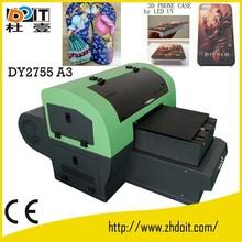top grade mini A3 uv flatbed printer,small uv flatbed printer