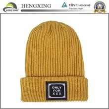 2014 new fashion plain beanies unisex /plain beanie ski hat