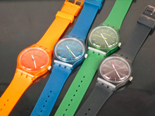 Multi-color Jelly Rubber Silicone watch Girls Transparent plastic brand silicone watches unisex silicone watch