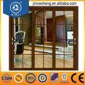 foshan doble de aluminio de la hoja de la puerta corredera