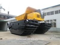 amphibious crawler transporter with cummins engine kawasaki pump doosan motor
