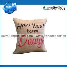 Bottom price hot sale throw pillow bag packaging