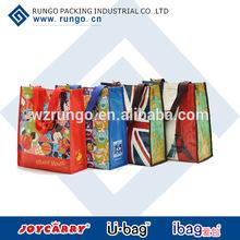 Reusable Bopp Laminated PP Woven Shopping Bag
