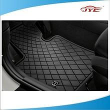new black two-tone standard car truck suv carpet vinyl car floor mats