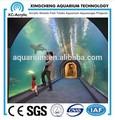 fábrica de venta directa de acrílico transparente del túnel del acuario