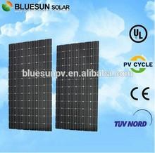 Bluesun top quality mono 280w solar panels high efficiency