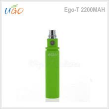 Long time last large capacity 2200mah ego-t 1100mah battery with ce5 starter kits