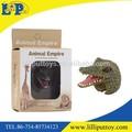 Estatueta toy anel animal crocodilo do nilo para parque