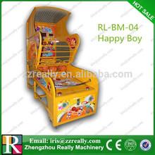 Coin operated basketball arcade game machine
