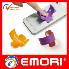 High quality customized promotional silicone mobile stand for smartphone