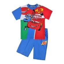 Free shipping children clothing children boys short sleeved top + pants pajamas pyjamas sleepwear summer nightwear