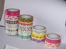 Decorative Sticky Paper Masking Adhesive Tape,wahi paper masking tape