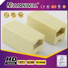 Lan cabo conector, amplificador para cabo de rede, rj45 cat 5 6 ethernet lan splitter conector adaptar