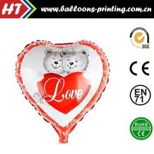 "[HOT] 18"" Love Bear Foil Balloons Wholesales Wedding Decoration Helium Balloon"