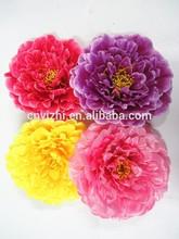 Simulation large variety of colors peony flower headYZTA-1107