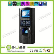INJES Alibaba China Alarm TCP/IP Wiegand Biometric Fingerprint Door Entrance System Keypad Security System