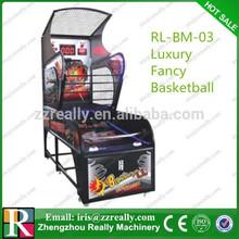 Coin operated NBA arcade basketball game machine