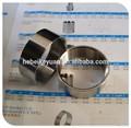 Aço inoxidável 304/316 meia manga 11/2 polegadas com rosca BSP