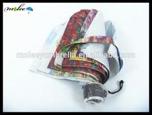 Super Light Manual Open Close 3 Folding Umbrella