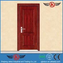 JK-W9082 JieKai bedroom wooden wardrobe door designs / single wooden door design / pivot hinges wooden door